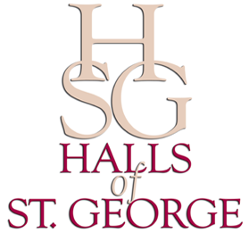 Halls of St. George Logo
